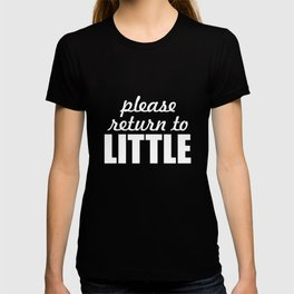 Please Return to Little Big Brother Sister T-Shirt T-shirt