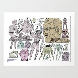 YHYHYHYHY Art Print