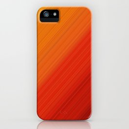 Linear Fire iPhone Case