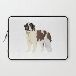 Saint Bernard Dog Laptop Sleeve