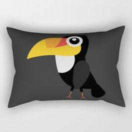 Toucan Bird Rectangular Pillow