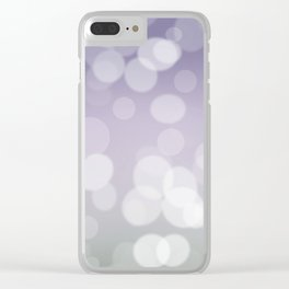 Bokeh effect 2 Clear iPhone Case