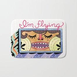 I'm Flying! Bath Mat