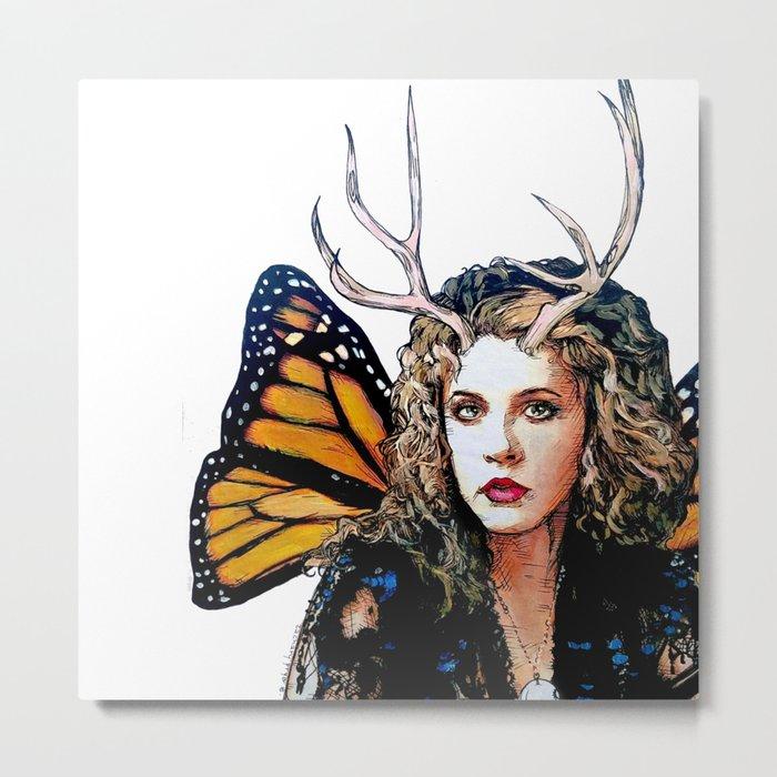 Ooh, Bella Donna - Fairy Stevie Nicks Metal Print