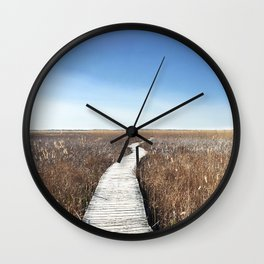 Vanishing Point Wall Clock