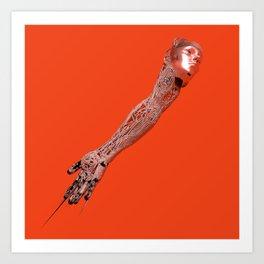 Unanatomy (2019) - Redgrits Art Print