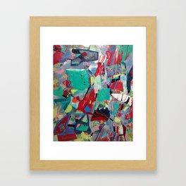 Rainbow Sprinkles in my Cream! Framed Art Print