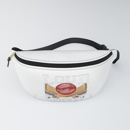 Funny Say It Loud We're Cricket Lovers And Proud Fanny Pack