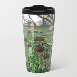Found Fungus Metal Travel Mug