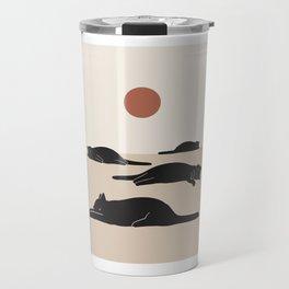 Cat Landscape 69 Travel Mug