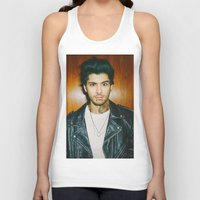 zayn malik Tank Tops featuring Zayn Malik Punk Edit by Vinny's Edits