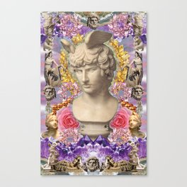 mercury dreams of amethyst olympus Canvas Print