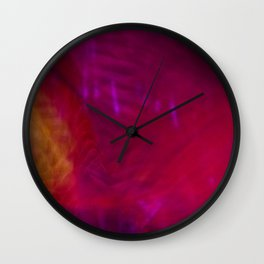 Motion afterimages #5 Wall Clock