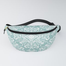 Floral seamless pattern damask baroque Fanny Pack
