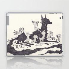 Le Loup et les Sept Chevreaux Laptop & iPad Skin