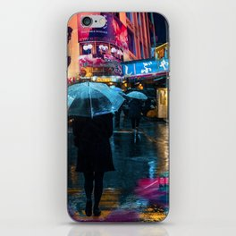 Japan street night iPhone Skin