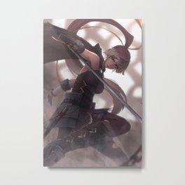 [070] Ayesha Haddad Metal Print