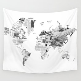 World News Wall Tapestry