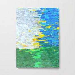 Sunny day for Impressionism Metal Print