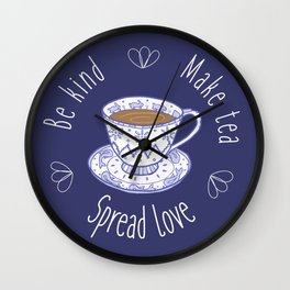 TeaLove Wall Clock
