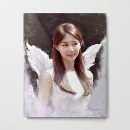 Angel Tzuyu Metal Print