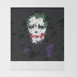 Joker ! Throw Blanket