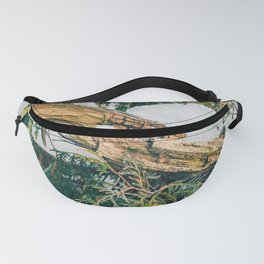Foliage and Debris Fanny Pack
