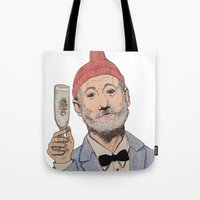 zissou Tote Bags featuring Zissou by The A B Project