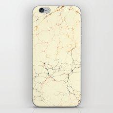 Marbled Cream iPhone & iPod Skin