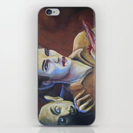 The Assassination of Edward Cullen by the Coward Nosferatu iPhone Skin