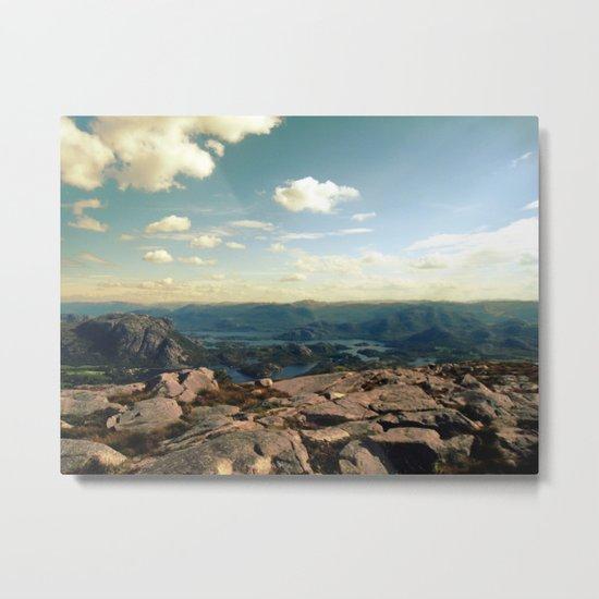 rocky islands. Metal Print