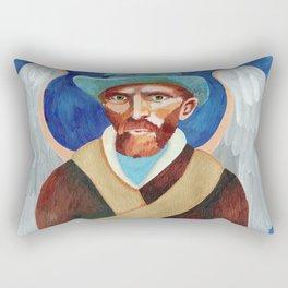 Angel of Art Rectangular Pillow