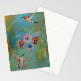 Hummingbirds Stationery Cards