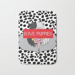 Love Puppies Bath Mat