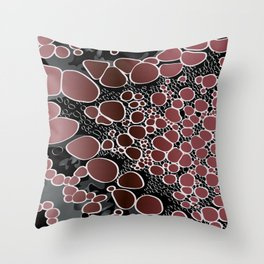 Abstract digital work 11 Throw Pillow
