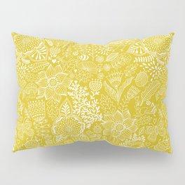 Yellow birds Pillow Sham