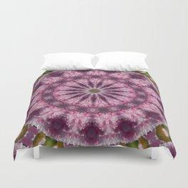 Cherry Blossom Kaleidoscope Duvet Cover
