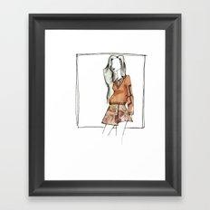AUBURN. Framed Art Print
