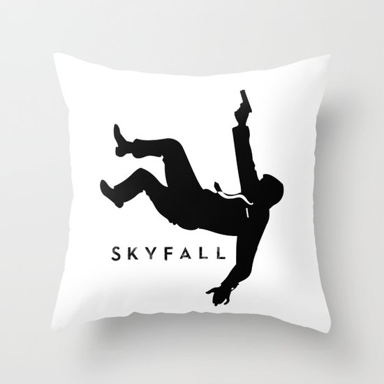 Skyfall Throw Pillow