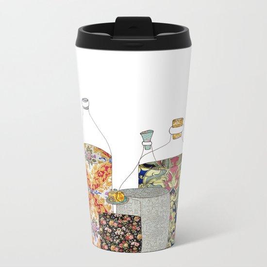 bottled happiness Metal Travel Mug