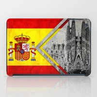 spain iPad Cases featuring Flags - Spain by Ale Ibanez