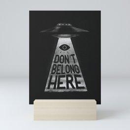 Because I'm a Creep Mini Art Print