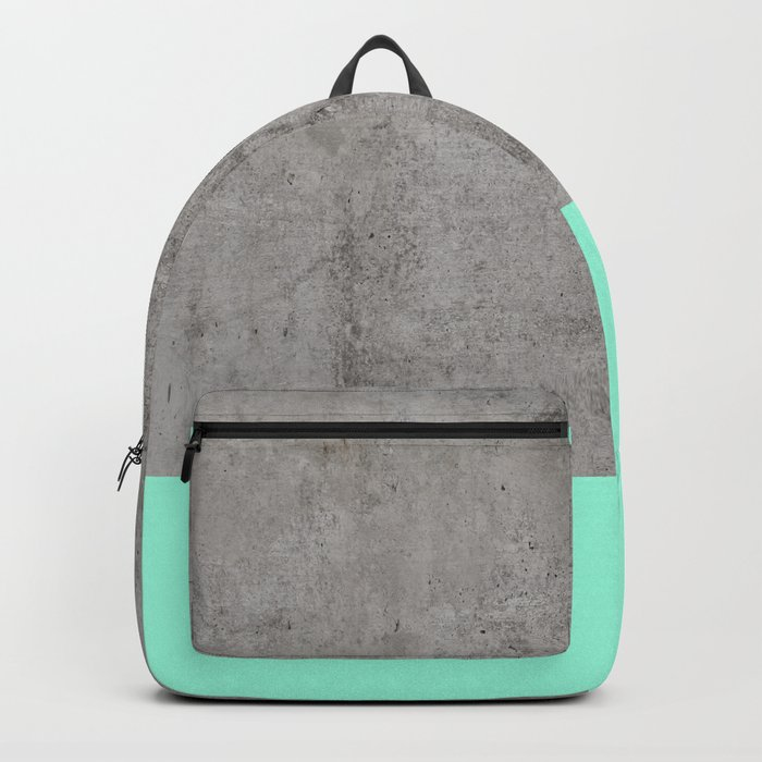 Sea on Concrete Backpack