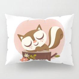 Sleeping Squrrel - Cute Animals Pillow Sham