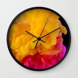 Color Explosion Wall Clock