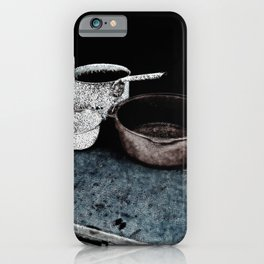 Haunted Cook Stove, Hell's Gate B.C. iPhone Case
