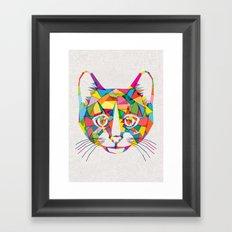RainboCat Framed Art Print