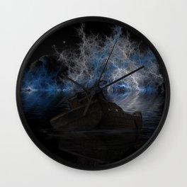 Ghost ship Wall Clock