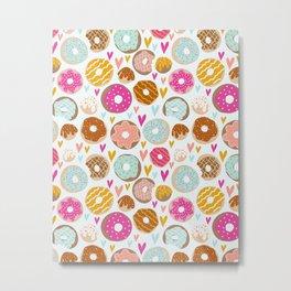 Donut Love  Metal Print