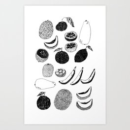 Fruit Salad Art Print